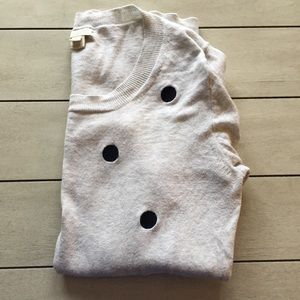 J.Crew Factory Polka Dot Sweater